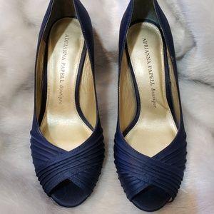Adrianna Papell Boutique Shenandoah peep toe heels